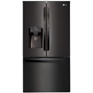 LG Appliances French Door Refrigerators- LG 28 cu.ft. Wi-Fi Enabled Door-in-Door? Fridge