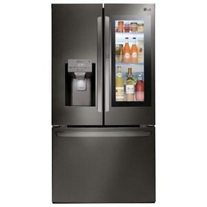 LG Appliances French Door Refrigerators 28 Cu.Ft. Smart Door In Door