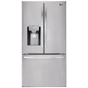 LG Appliances French Door Refrigerators 28 cu.ft. Capacity 3-Door French Door Fridge