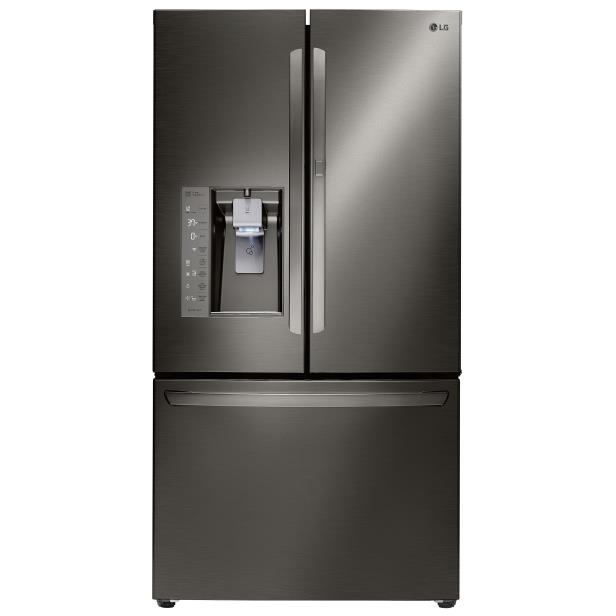 LG Appliances French Door Refrigerators 30 Cu. Ft. 3 Door French Door Fridge - Item Number: LFXS30766D
