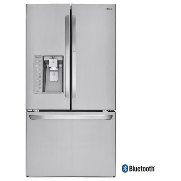 LG Appliances French Door Refrigerators 30 Cu. Ft. French Door Refrigerator - Item Number: LFXS30786S