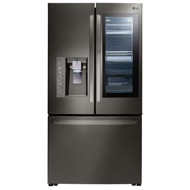 French Door Refrigerators 30 Cu. Ft. Door-in-Door® French Door Fridge by LG Appliances at Furniture Fair - North Carolina