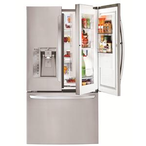 LG Appliances French Door Refrigerators 32 Cu. Ft. 3 Door French Door Fridge