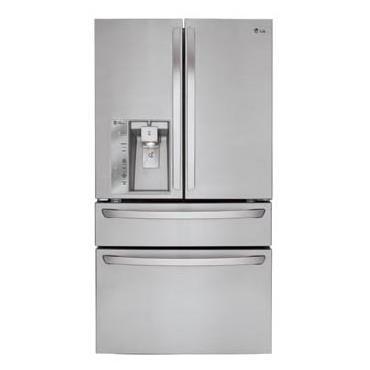 LG Appliances French Door Refrigerators 23 Cu. Ft. Counter Depth French Door Refrige - Item Number: LMXC23746S