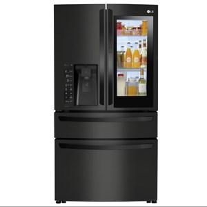 LG Appliances French Door Refrigerators- LG 23 Cu.Ft. Door-in-Door? Counter-Depth Fridge