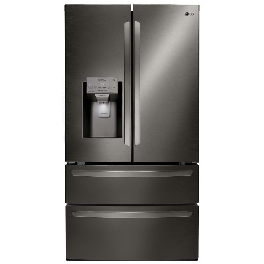 Lg Appliances 28 Cuft Capacity 4 Door French Door Refrigerator