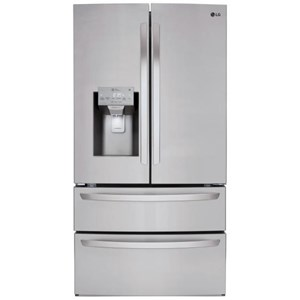 LG Appliances French Door Refrigerators 28 cu.ft. Capacity 4-Door French Door Fridge