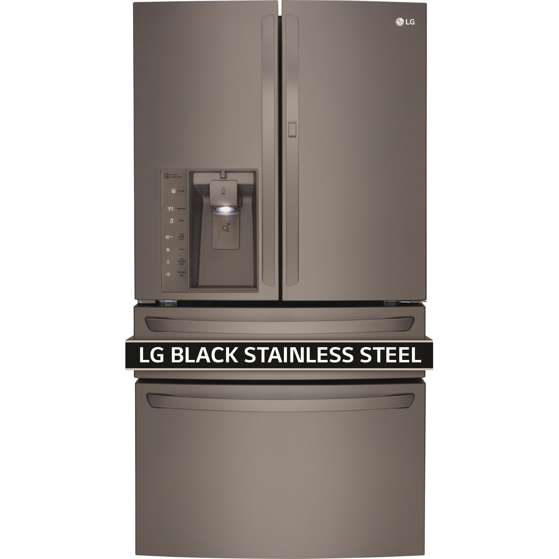 LG Appliances French Door Refrigerators 30 Cu. Ft. 4-Door French Door Refrigerator - Item Number: LMXS30776D