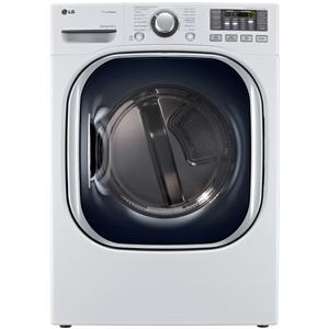 LG Appliances Gas Dryers 7.4 Cu Ft. Gas Front-Load Dryer