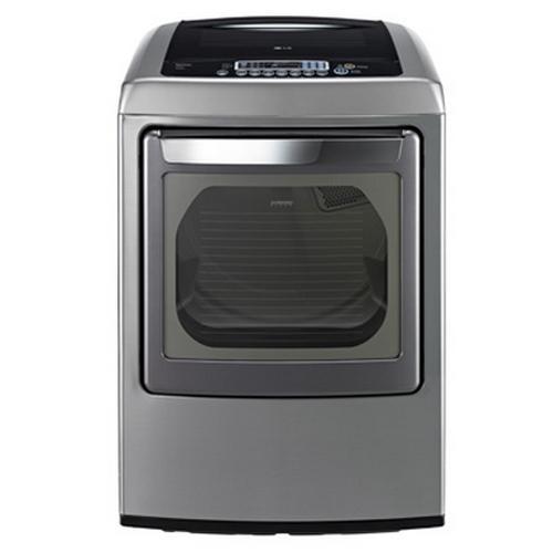 LG Appliances Gas Dryers 7.3 Cu. Ft. Front-Load Gas Dryer - Item Number: DLGY1202V