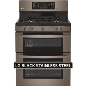LG Appliances Gas Ranges 6.1 Cu. Ft. Gas Double Oven Range