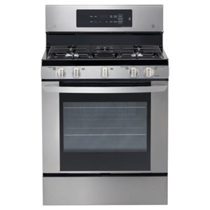LG Appliances Gas Ranges 5.4 cu. ft. Single Oven Gas Range