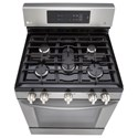 LG Appliances Gas Ranges 5.4 cu. ft. Single Oven Gas Range with EasyClean®