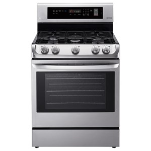 LG Appliances Gas Ranges 6.3 cu. ft. Gas Convection Range