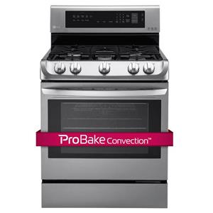 LG Appliances Gas Ranges 6.3 Cu. Ft. Gas Single Oven Range