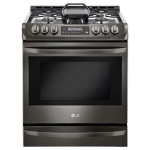 LG Appliances Gas Ranges 6.3 cu. ft. Gas Slide-in Range