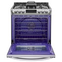 LG Appliances Gas Ranges 6.3 cu. ft. Gas Slide-in Range with ProBake Convection™ and EasyClean®