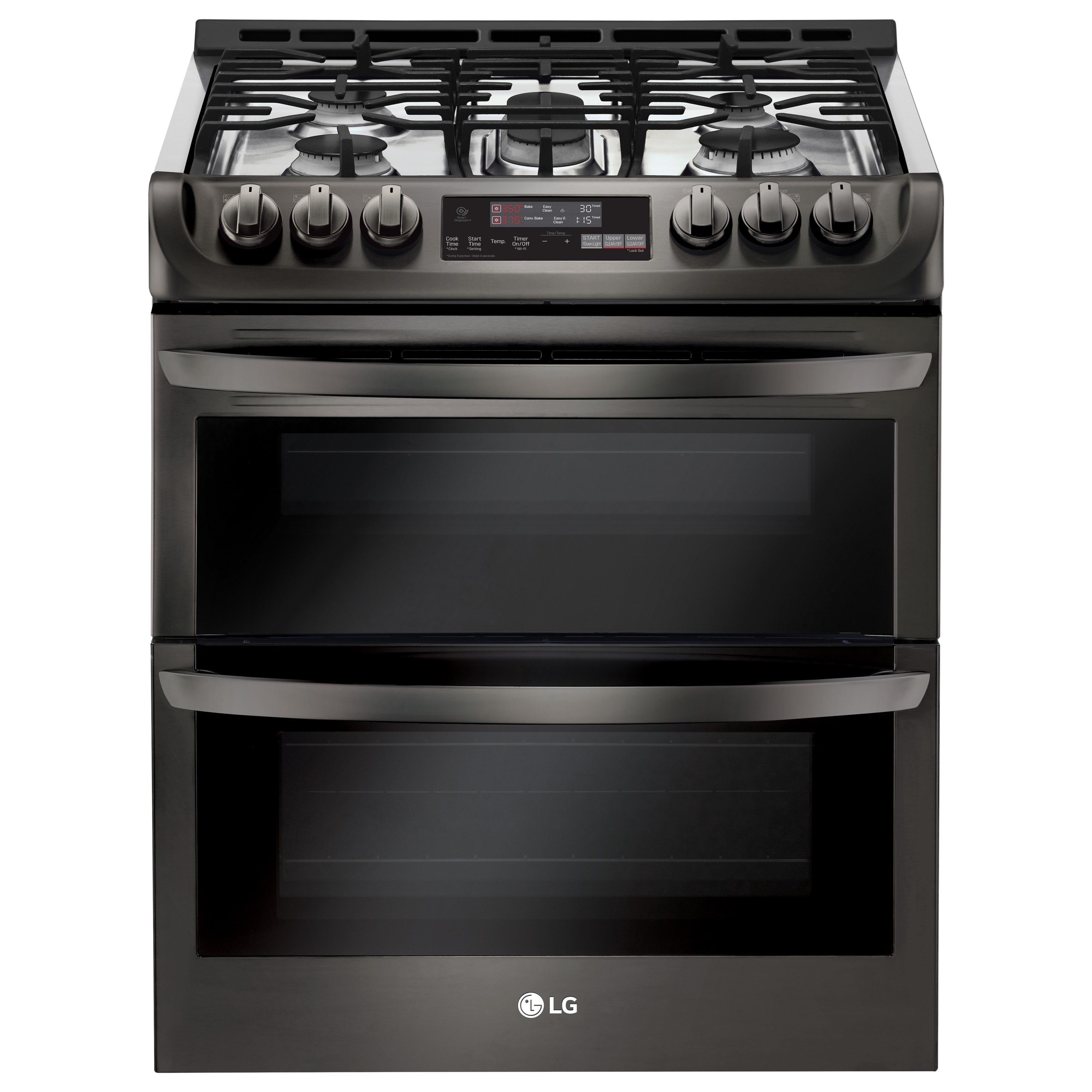 Wi Fi Enabled Gas Double Oven
