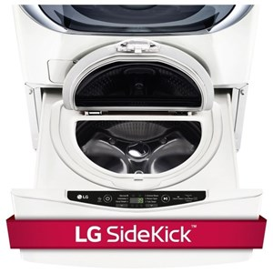 LG Appliances Laundry Accessories 1.0 CU. FT. SideKick™ Pedestal Washer
