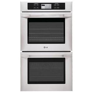 "LG Appliances LG Studio Series 30"" Built-In Double Electric Wall Oven"
