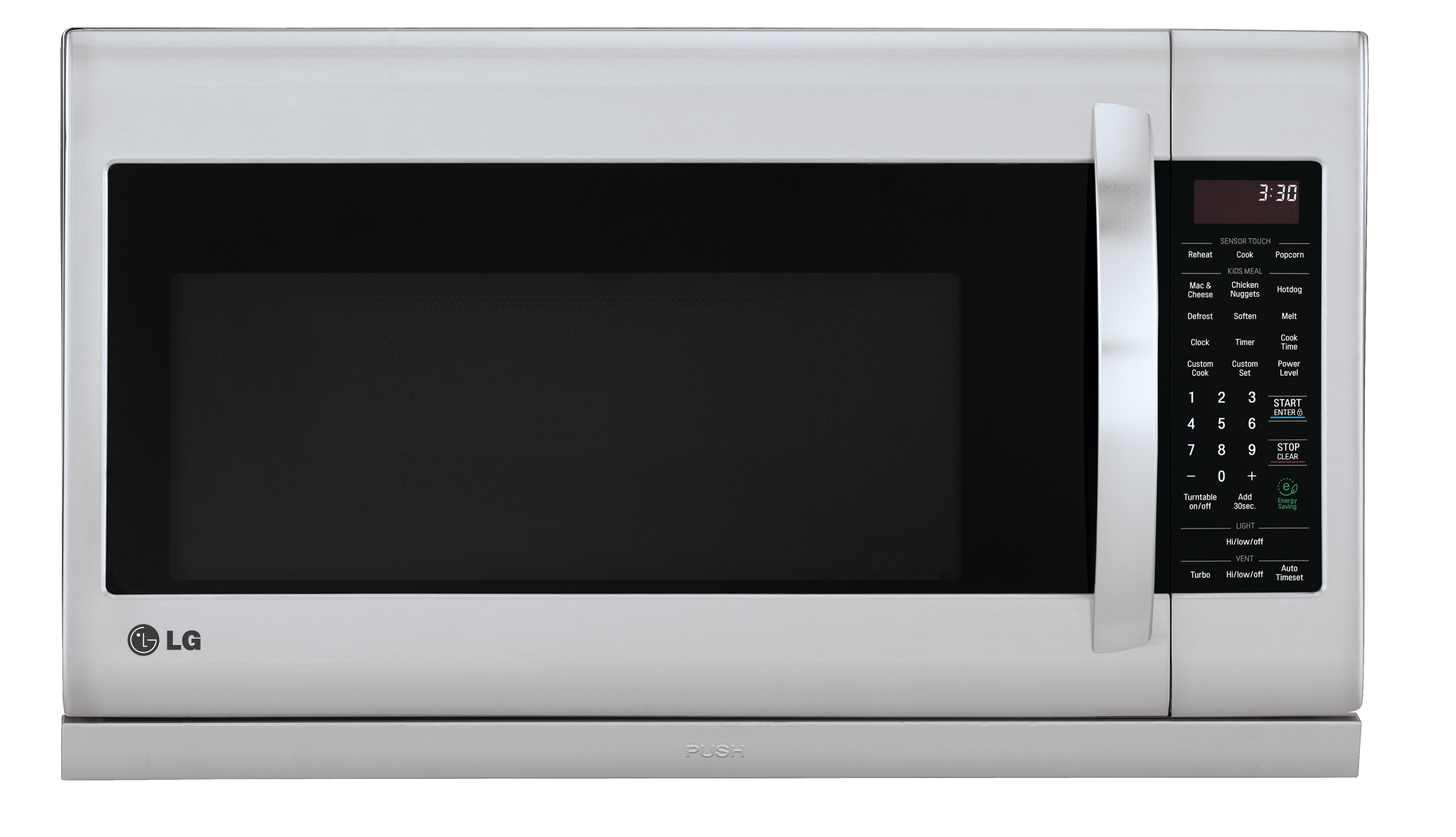 LG Appliances Microwaves 2.2 cu. ft. Over-the-Range Microwave - Item Number: LMH2235ST