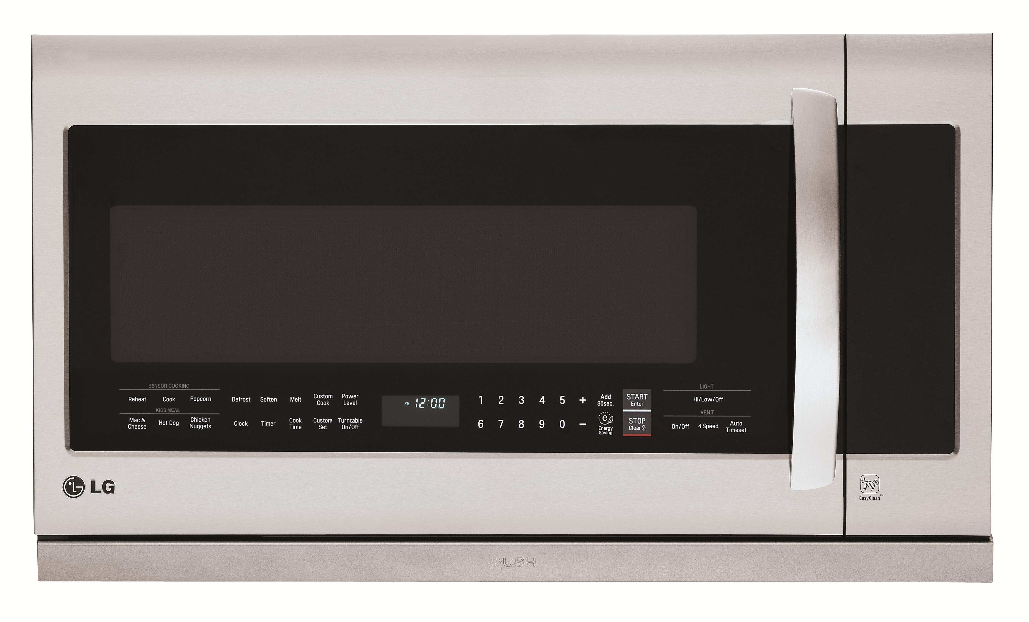 LG Appliances Microwaves 2.2 cu. ft. Over-the-Range Microwave - Item Number: LMHM2237ST