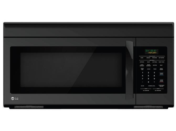 LG Appliances Microwaves 1.6 Cu. Ft. Over-the-Range Microwave - Item Number: LMV1683SB