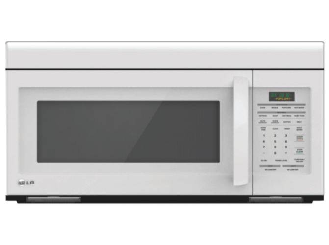 LG Appliances Microwaves 1.6 Cu. Ft. Over-the-Range Microwave - Item Number: LMV1683SW