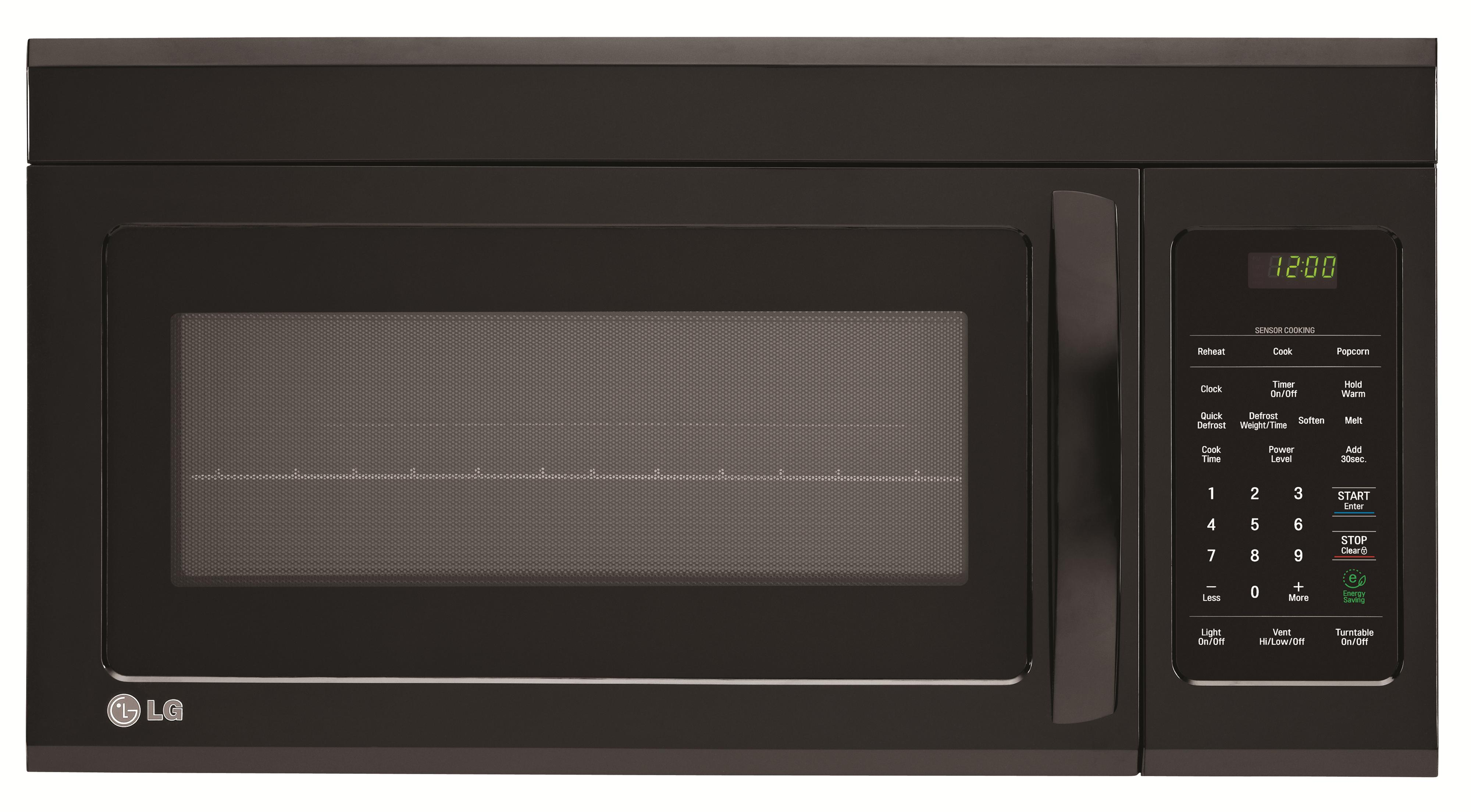 LG Appliances Microwaves 1.8 cu.ft. Over-the-Range Microwave Oven - Item Number: LMV1831SB