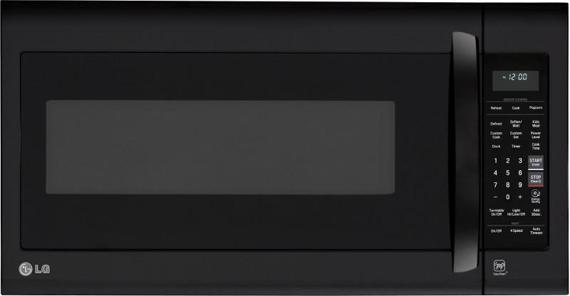 LG Appliances Microwaves 2.0 cu.ft. Over-the-Range Microwave Oven - Item Number: LMV2031SB