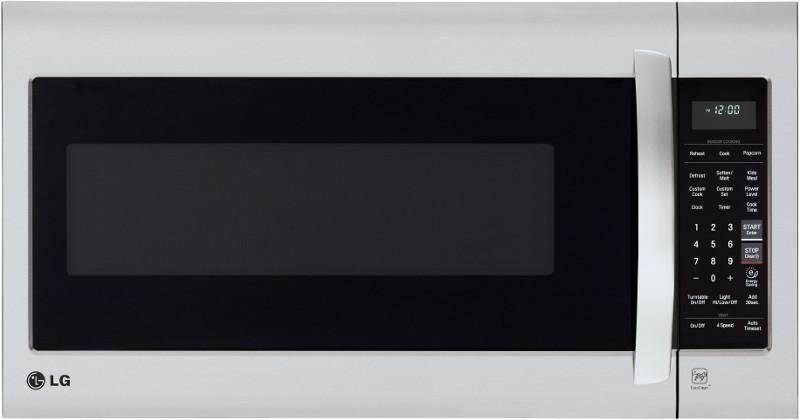 LG Appliances Microwaves 2.0 cu.ft. Over-the-Range Microwave Oven - Item Number: LMV2031ST