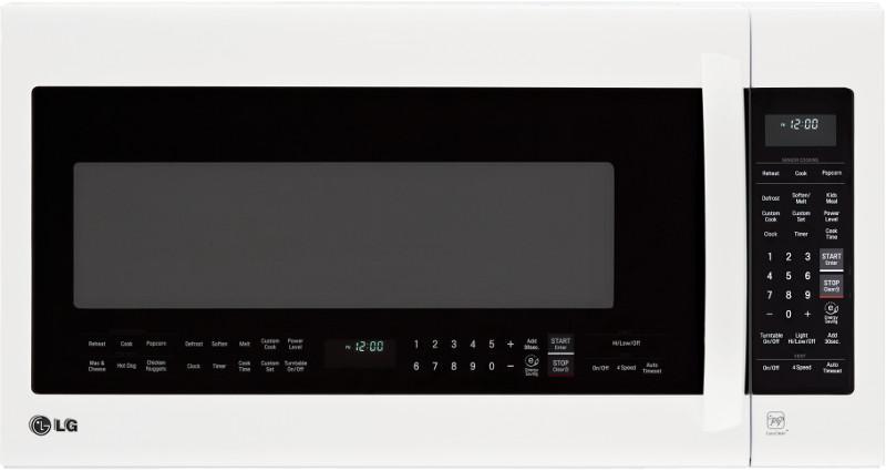 LG Appliances Microwaves 2.0 cu.ft. Over-the-Range Microwave Oven - Item Number: LMV2031SW