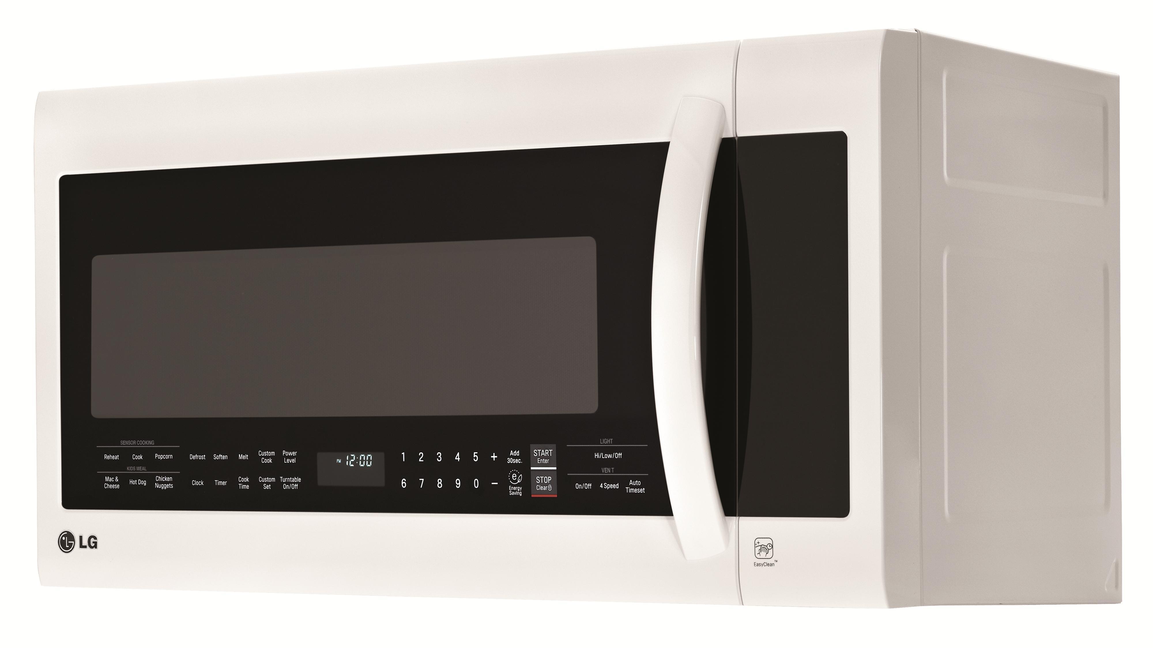 LG Appliances Microwaves 2.0 cu.ft. Over-the-Range Microwave Oven - Item Number: LMVM2033SW