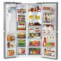 LG Appliances Side by Side Refrigerators 21.6 Cu. Ft. Side-by-Side Refrigerator with Door-in-Door®