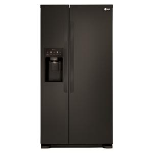 LG Appliances Side by Side Refrigerators 22 cu. ft. Side by Side Refrigerator