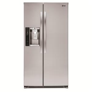 LG Appliances Side by Side Refrigerators 26 cu. ft. Side by Side Refrigerator