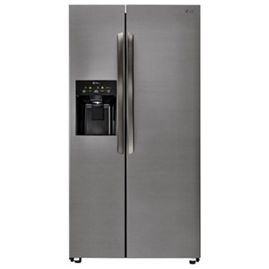 LG Appliances Side by Side Refrigerators- LG 26 Cu. Ft. Side-By-Side Refrigerator