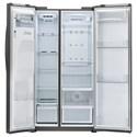 LG Appliances Side by Side Refrigerators- LG 26 cu. ft. Ultra Capacity Side-By-Side Refrigerator