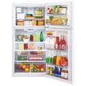 "LG Appliances Top-Freezer Refrigerator 24 Cu. Ft Large Capacity 33"" Wide Top Freezer Refrigerator"