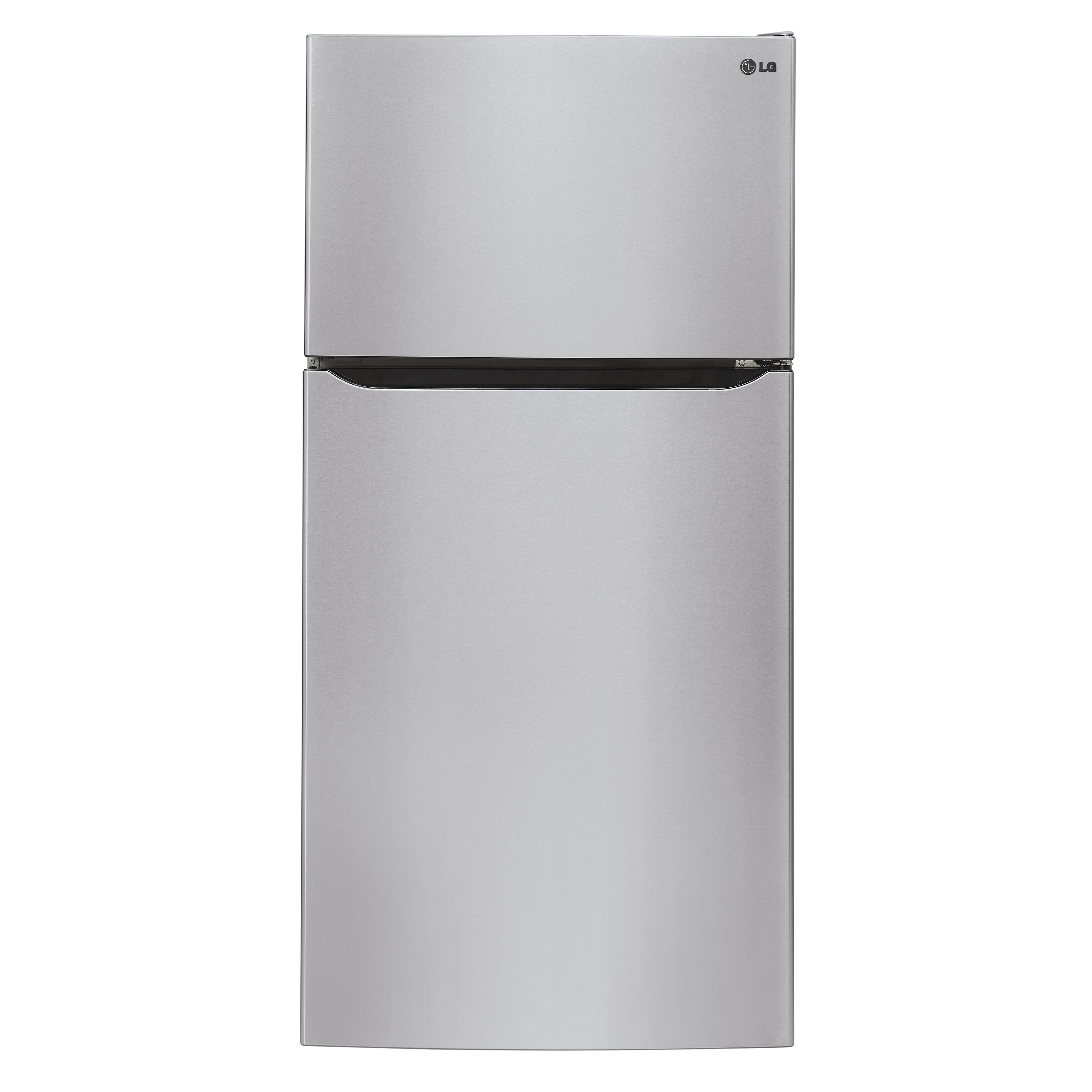 LG Appliances Top-Freezer Refrigerator 20 cu. ft. Wide Top Freezer Refrigerator - Item Number: LTCS20220S