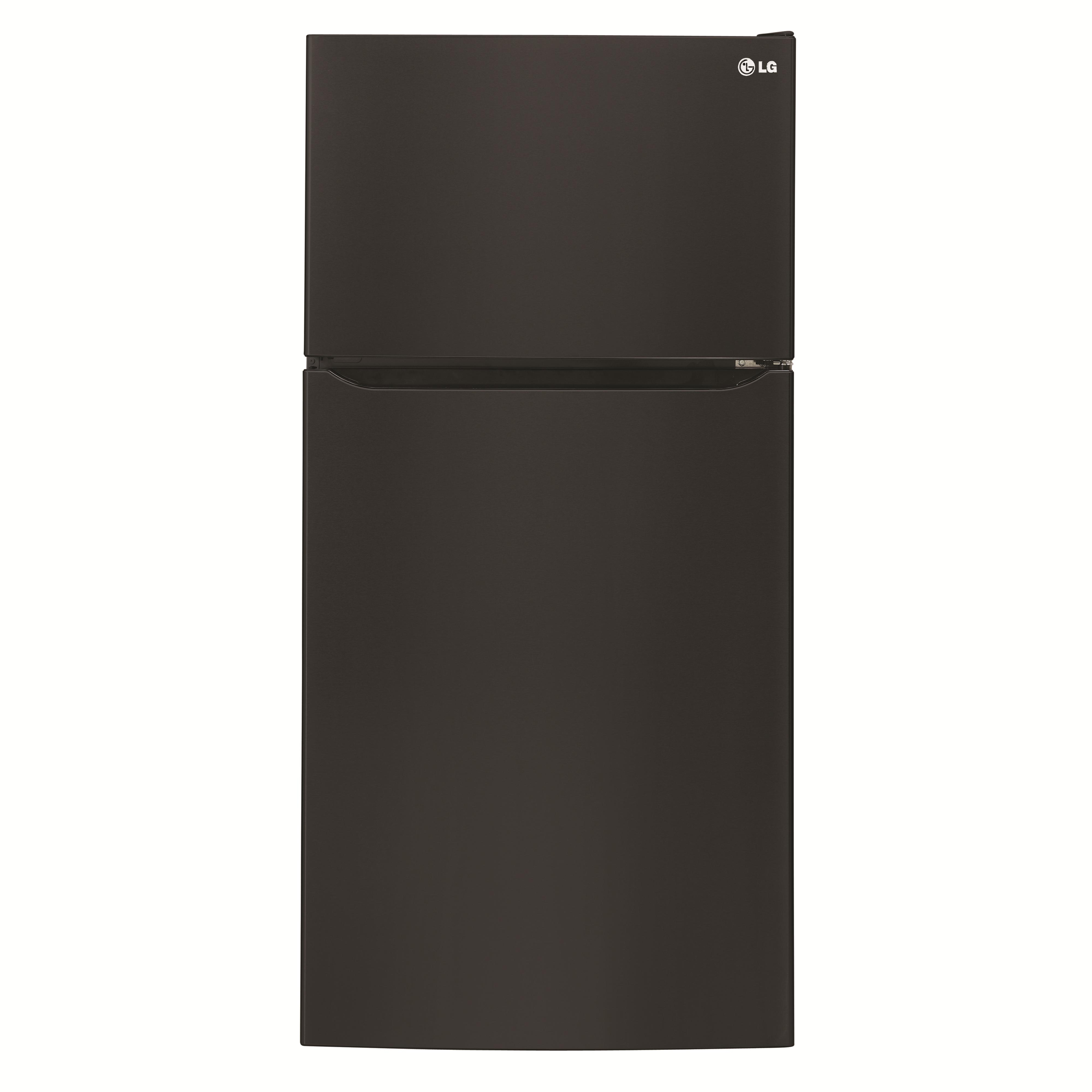 LG Appliances Top-Freezer Refrigerator 24 cu. ft. Top Freezer Refrigerator - Item Number: LTCS24223B