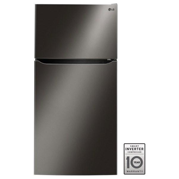 "LG Appliances Top-Freezer Refrigerator - LG 24 Cu. Ft 33"" Wide Top Freezer Refrigerator - Item Number: LTCS24223D"