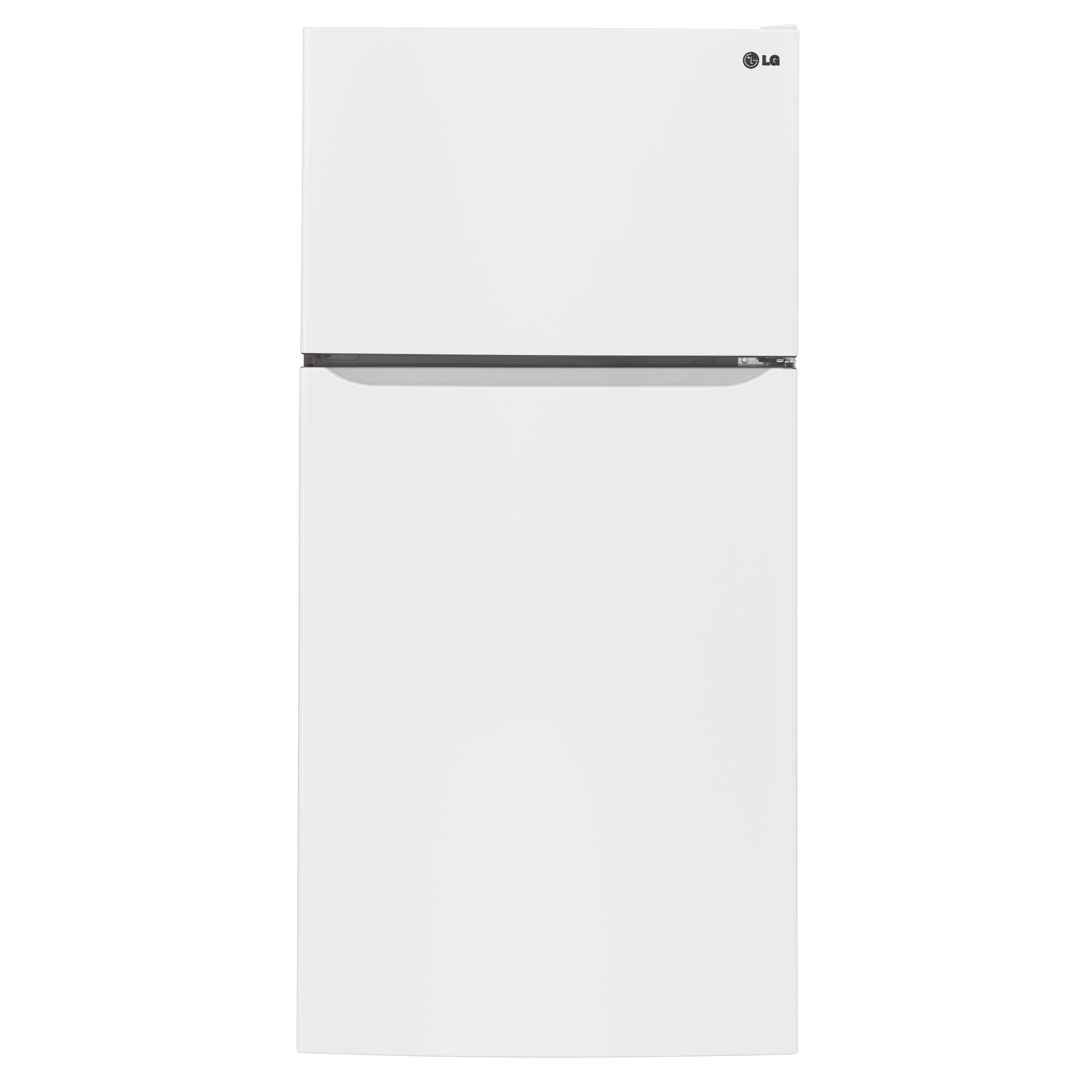 LG Appliances Top-Freezer Refrigerator 24 cu. ft. Top Freezer Refrigerator - Item Number: LTCS24223W