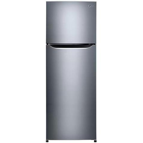 LG Appliances Top Graphite 11 Cu. Ft. Compact Top-Mount Refrigerator - Item Number: LTNC11121V