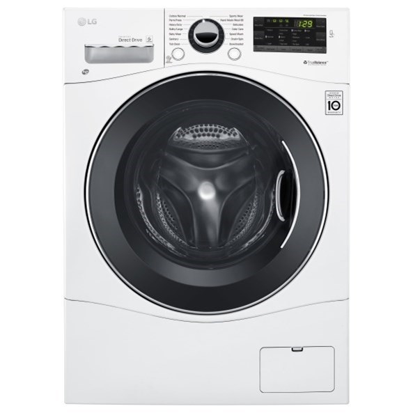 Washers 2.3 Cu.Ft. Compact Front Load Washer by LG Appliances at Furniture and ApplianceMart