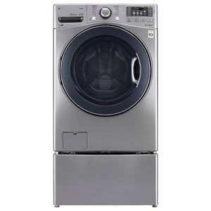 LG Appliances Washers 4.5 cu. ft. Ultra Large Capacity TurboWash™