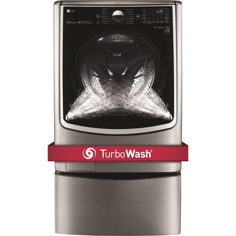 Lg Appliances Wm5000hva4 5 Cu Ft Mega Capacity Turbowash