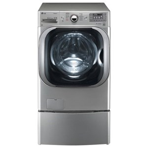 LG Appliances Washers 5.2 cu. ft. Mega Capacity TurboWash® Washer
