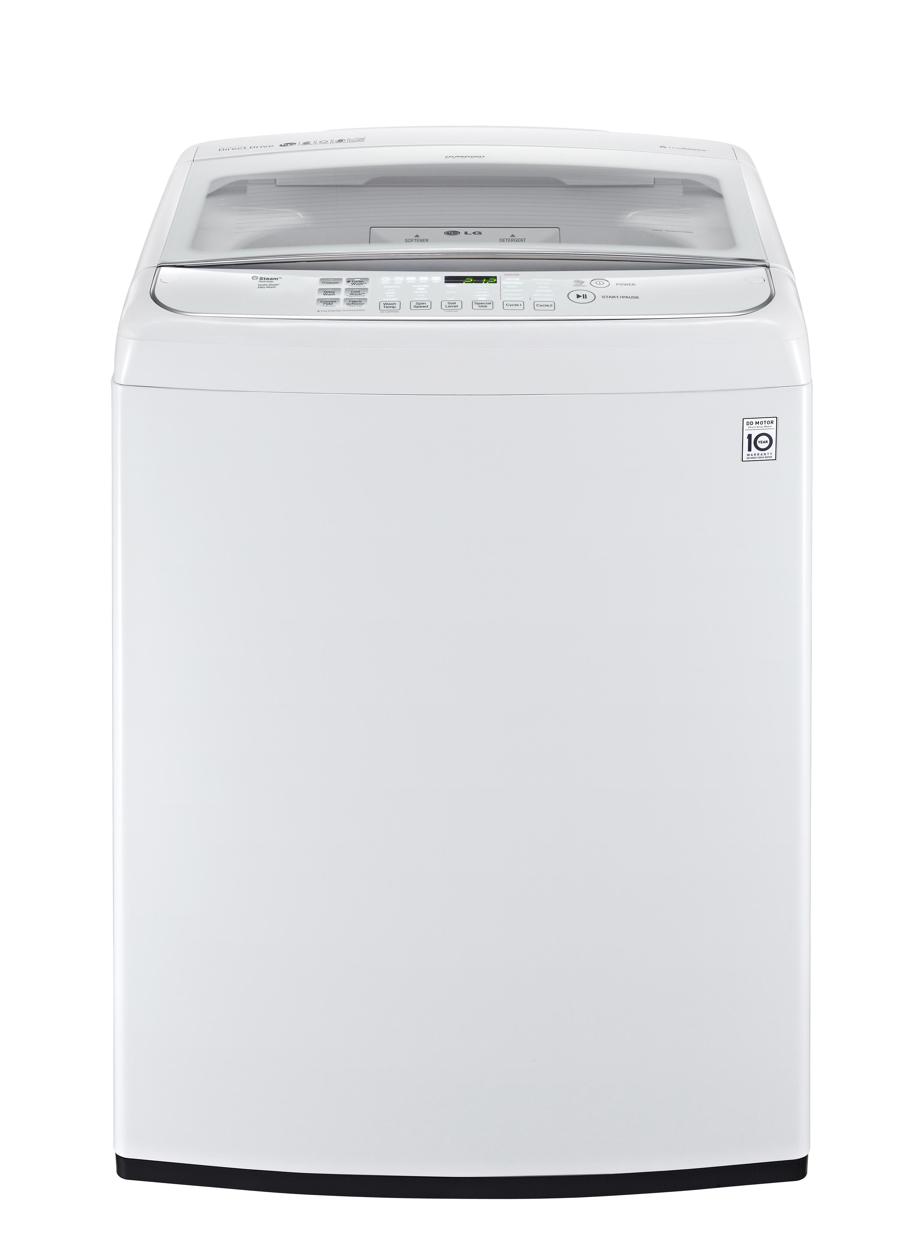 LG Appliances Washers 5.0 Cu. Ft. Top Load Washer - Item Number: WT1801HWA