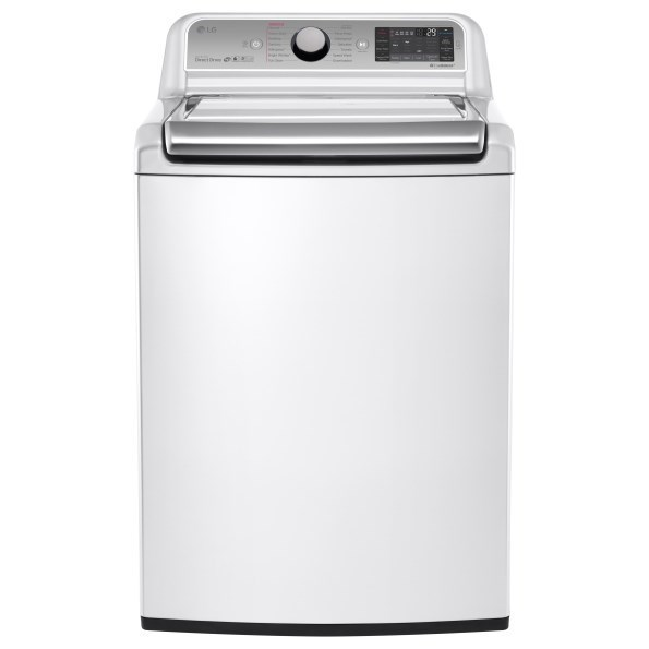 LG Appliances Washers 5.2 Cu. Ft. Mega Capacity Top Load Washer - Item Number: WT7600HWA